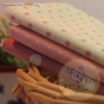เซตผ้าฝ้ายโทนสีชมพู (1/8 หลา ) 3 ชิ้น