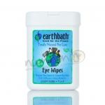 แผ่นเช็ดตา Earthbath Eye Wipes