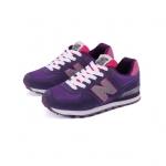 [Preorder] รองเท้าผ้าใบ N สีม่วงเทา Korean wild shoes running shoes breathable couple N Aberdeen male Korean fashion sneakers shoes singles shoes N word