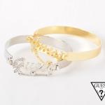 GUESS gold/ silver bracelace พร้อมส่งสีทองค่ะ