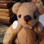 ตุ๊กตาหมีผ้าขูดขนสีโอวัลติน ขนาด 7 cm. - Getty