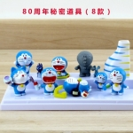 [Preorder] โมเดลโดเรมอน 8 แบบน่ารัก (ไม่มีฐาน) models duo a dream doll ornaments hand to do the 35th anniversary of the seal of the scene Doraemon Doraemon Toys and Gift