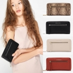 CHARLES & KEITH ZIP FRONT LONG WALLET