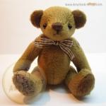 ตุ๊กตาหมีผ้าขน cocoa ขนาด 14 cm. - Herbie