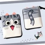 กระเป๋าสตางค์แมวจี้ (ใบสั้น) สำเนา