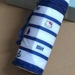 กระเป๋าเก็บอุณภูมิHello Kitty สำหรับใส่ขวดน้ำ/ ขวดนม ลายริ้วกะลาสีเรือ