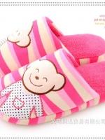 พร้อมส่ง รองเท้าแตะน้องหมีน่ารัก สีชมพู