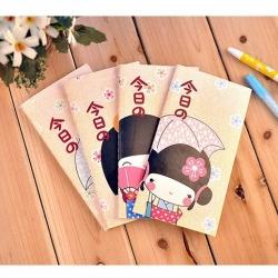 สมุดบันทึก น่ารัก เด็กผู้หญิง สไตล์เกาหลี (ราคาส่ง 6ชิ้น เหลือชิ้นละ 30บาท)