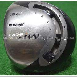 MIZUNO MP-600 9.5° DRIVER EXSAR 59G FLEX S
