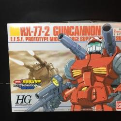 Gandum RX-77-2 Guncannon E.F.S.F. Prototype Middle-Range Support Mobile Suit 1/144 HG
