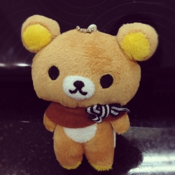 ตุ๊กตา พวงกุญแจ หมี Rilakkuma ริลัคคุมะ หมีขี้เกียจ