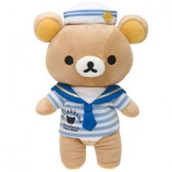ตุ๊กตา Rilakkuma ชุดกะลาสีเรือ ขนาด9นิ้ว
