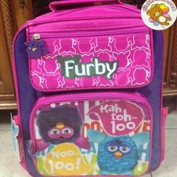 กระเป๋านักเรียน เฟอร์บี้ Furby ขนาด 12x14นิ้ว