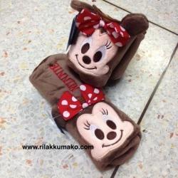 กระเป๋าดินสอ Minnie Mouse มินนี่ เมาส์ ทำเป็นแท่นวางดินสอได้ (3ใบ เหลือใบละ 165บาท คละลายได้)