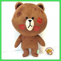 ตุ๊กตาไลน์ หมีบราวน์ Brown ขนาด 40cm