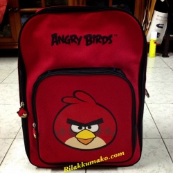 กระเป๋านักเรียน กระเป๋าเป้ ลาย แองกี้เบิร์ด Angry Birds ขนาด 17x14x6นิ้ว