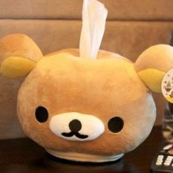ทิชชู่ตั้งโต๊ะ ลายRilakkuma หมีริลัคคุมะ