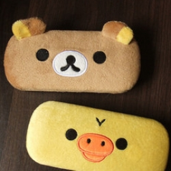 กล่องแว่น ลาย2ลาย Rilakkuma ริลัคคุมะ หมีน้ำตาล และ Kiioritori ลูกเจี๊ยบ