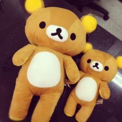 ตุ๊กตา ริลัคคุมะ Rilakkuma มี3ขนาด: 12นิ้ว 16นิ้ว และ 20นิ้ว