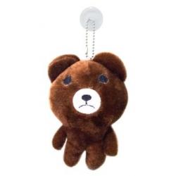 พวงกุญแจ ตุ๊กตาไลน์ Line App ขนาด 12cm Brown หมี บราวน์ #4