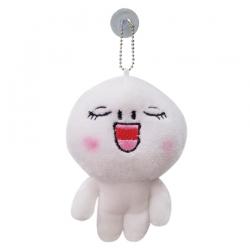 พวงกุญแจ ตุ๊กตาไลน์ Line App ขนาด 12cm หน้าหลับตาพริ้ม #6