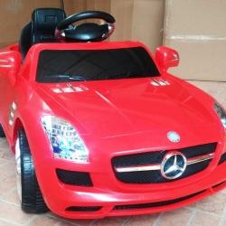 รถแบตเตอรี่เด็ก BenZ SLS สปอร์ตสุดเท่ห์ สีแดง / สีดำ