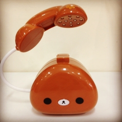 โคมไฟ Rilakkuma ริลัคคุมะ ทรงโทรศัพท์