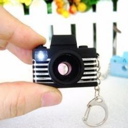 พวงกุญแจกล้องถ่ายรูปจิ๋ว