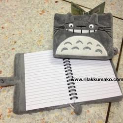 สมุดโน้ต ถอดปกได้ ลาย Totoro โตโตโร่ ขนาด 15x13cm