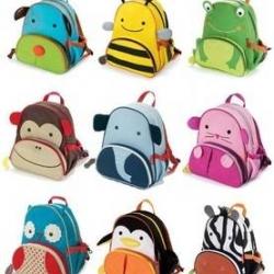 กระเป๋านักเรียน กระเป๋าหนังสือเด็ก Skip Hop Zoo Pack