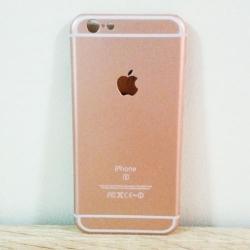 เคสไอโฟน 6/6s ลายไอโฟน 6s สีพิ้งโกล