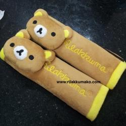 ที่รัดเบลท์ ลาย หมี ริลัคคุมะ Rilakkuma รุ่นขอบสีเหลือง