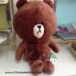 ตุ๊กตาไลน์ หมีบราวน์ จัมโบ้ 80cm
