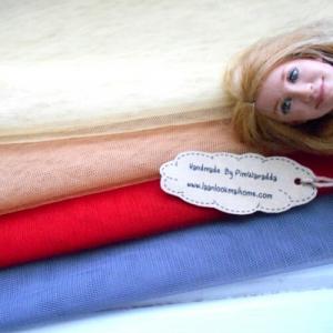 ผ้าตาข่ายเนื้อนุ่มจัดเซต 4 ชิ้นแต่ละชิ้นขนาด 40x50cm