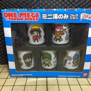 One Piece Panson Works เซ็ทแก้วน้ำชา เซรามิค วันพีช