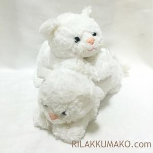 ตุ๊กตาแมว สีขาว ขนนุ่ม Anee Park 6 นิ้ว