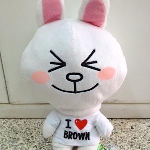 ตุ๊กตาไลน์ กระต่ายโคนี่ ยิ้มหวาน Cony ขนาด 40cm