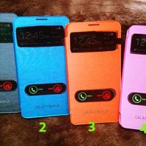 Case Samsung Note 3 ฝาพับรับสายได้