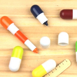 ปากกาแคปซูล (12ด้าม เหลือด้ามละ 15บาท)