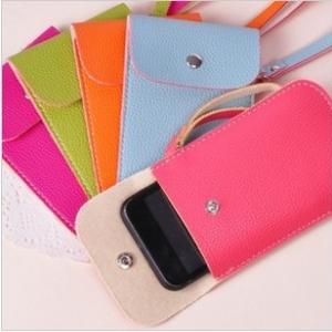 ซองใส่ไอโฟน สไตล์เกาหลี ขนาด 12.5x8.5cm (ซื้อ 3 ชิ้น เหลือชิ้นละ 65 บาท)