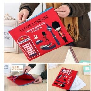 กระเป๋าใส่เอกสาร ใส่ของกระจุ๊กกระจิ๊ก สไตล์เกาหลี (ราคาส่ง 6ชิ้น เหลือชิ้นละ 100บาท)