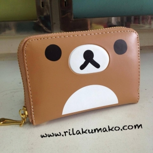 กระเป๋าสตางค์ ริลัคคุมะ Rilakkumako แบบสั้น