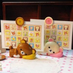 """กรอบรูป ท่านอน ขนาดรูป 4""""x6"""" มี2ลาย: Rilakkuma ริลัคคุมะ สีน้ำตาล และ Korilakkuma โคะริลัคคุมะ สีครีม"""