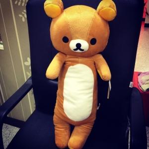 หมอนข้าง ริลัคคุมะ Rilakkuma หมีสีน้ำตาล สูง 76 cm