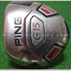 PING G15 9* DRIVER PING TFC 149 D FLEX S