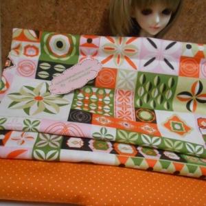 NOV57Pack4 : ผ้าจัดเซตคู่ ผ้าอเมริกา+ ผ้าในไทย ขนาด 25-27 X 45-50 cmและ59x55 cm