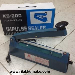 เครื่องซีลถุง ไฟฟ้า KS-200 สำหรับ ถุง PP/PE ขนาดซีล 8นิ้ว
