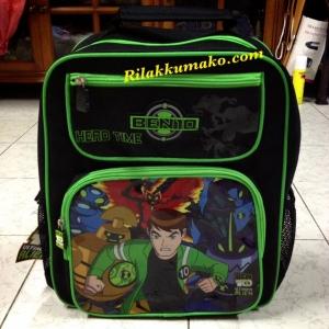 กระเป๋านักเรียน กระเป๋าเป้ Ben 10 เบนเทน ขนาด 14x12x5นิ้ว