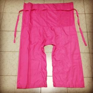 [ขนาด Freesize] กางเกงขาก๊วย (กางเกงเล)