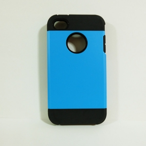 เคสไอโฟน 4/4S SLIM Armor สีฟ้า